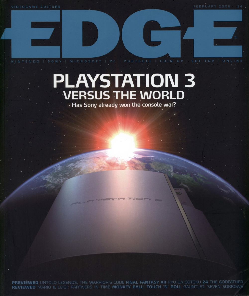 Scan of Document: Edge - Issue 159 - February 2006