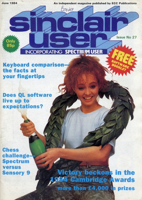 Scan of Document: Sinclair User June 1984