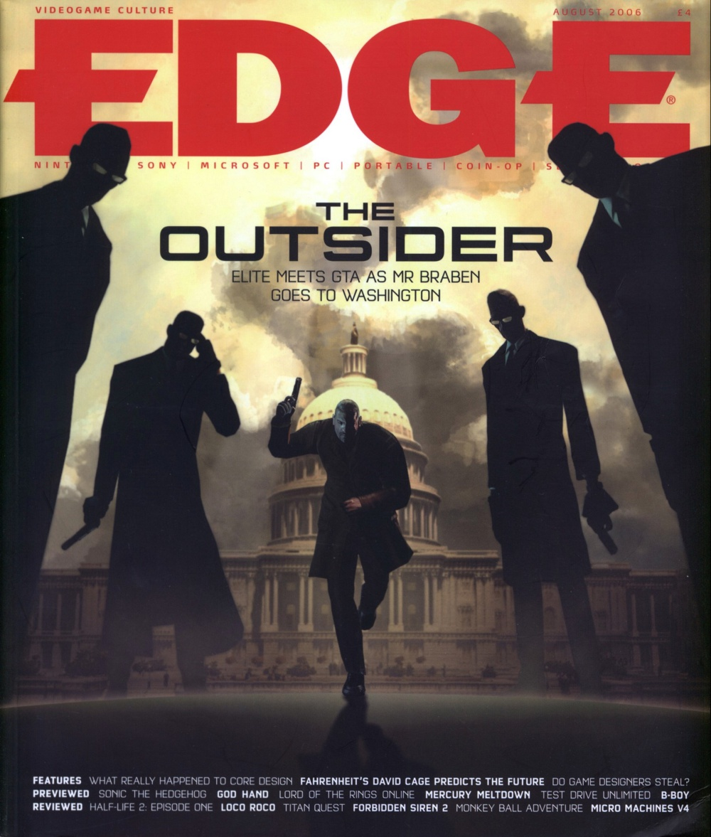 Scan of Document: Edge - Issue 165 - August 2006