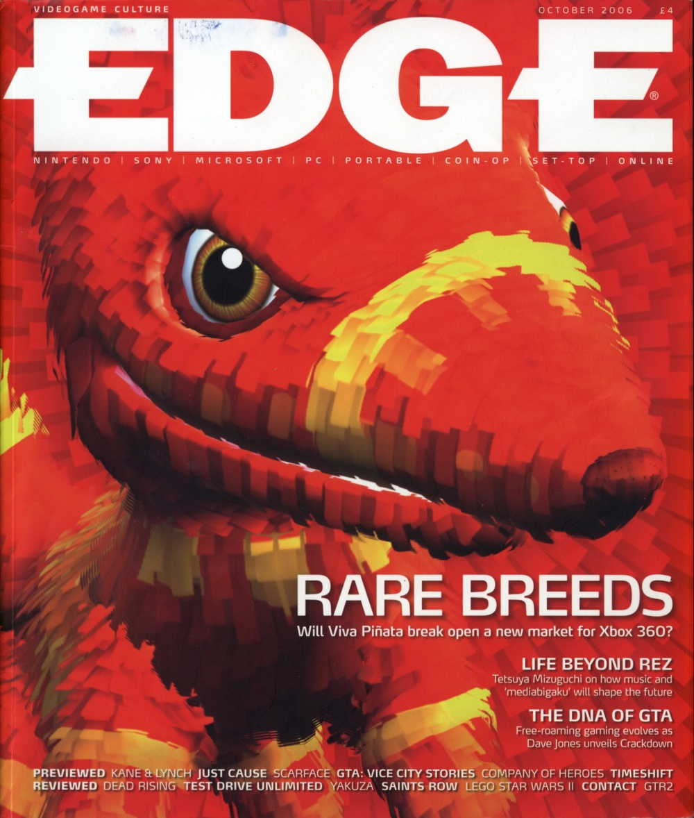 Scan of Document: Edge - Issue 167 - October 2006