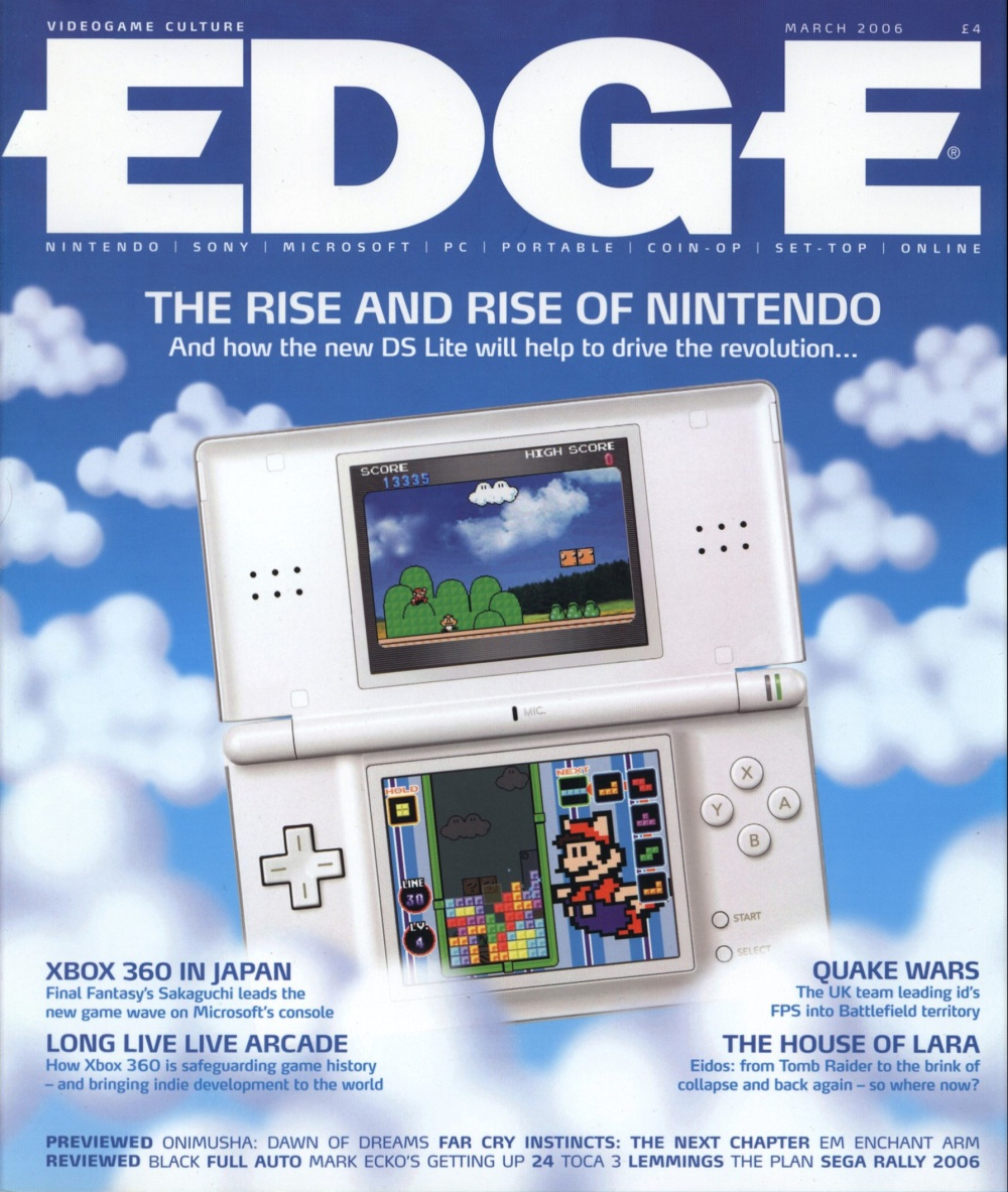 Scan of Document: Edge - Issue 160 - March 2006