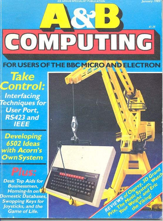 Scan of Document: A&B Computing - January 1985