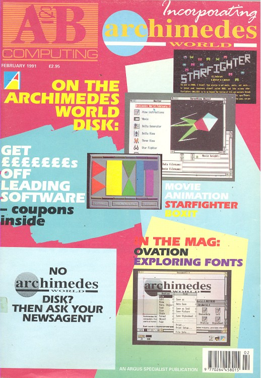 Scan of Document: A&B Computing - February 1991