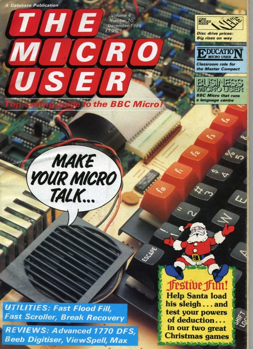 Scan of Document: The Micro User - December 1986 - Vol 4 No 10