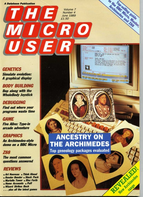 Scan of Document: The Micro User - June 1989 - Vol 7 No 4