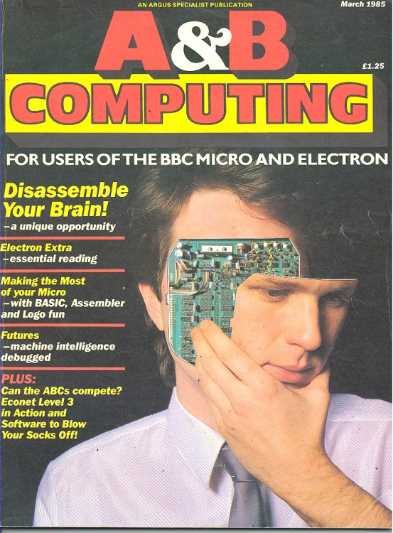 Scan of Document: A&B Computing -  March 1985