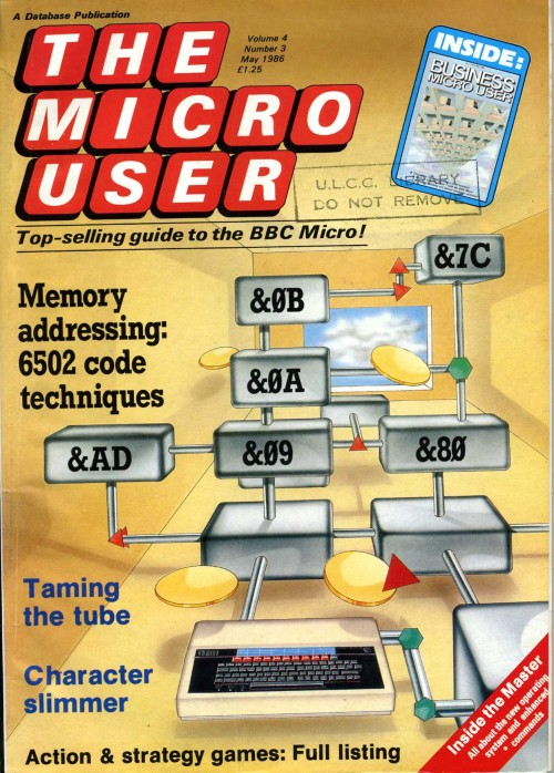 Scan of Document: The Micro User - May 1986 - Vol 4 No 3
