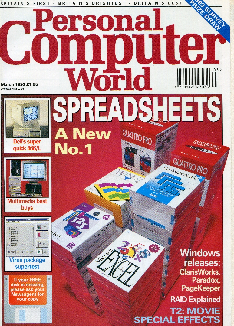 Scan of Document: Personal Computer World - March 1993