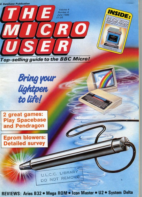 Scan of Document: The Micro User - June 1986 - Vol 4 No 4