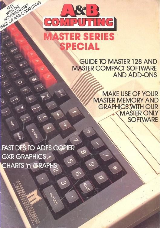 Scan of Document: A&B Computing - Master Series Special, November 1987