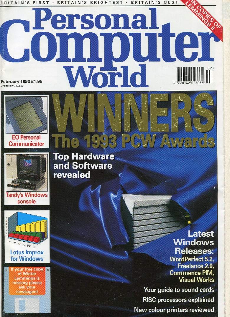 Scan of Document: Personal Computer World - February 1993