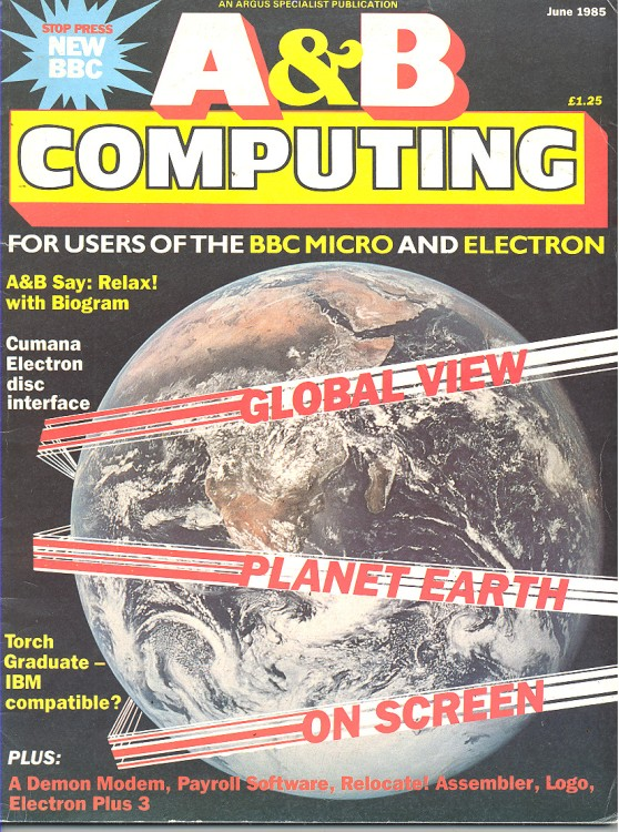 Scan of Document: A&B Computing - June 1985
