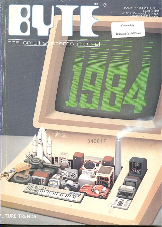 Scan of Document: Byte January 1984