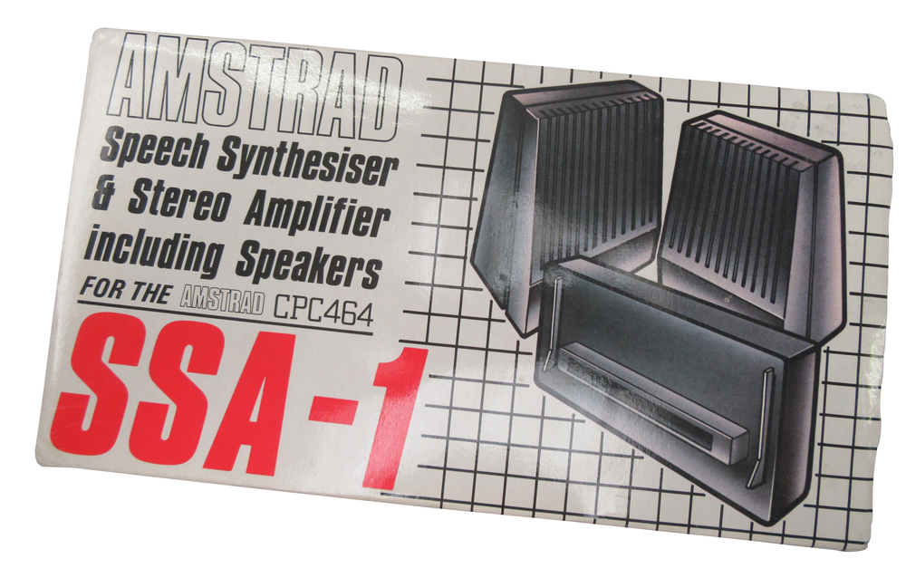 Scan of Document: Amstrad Speech Synthesiser SSA-1