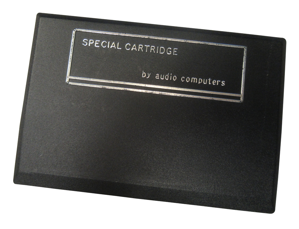 Scan of Document: Audio Computers Special Cartridge