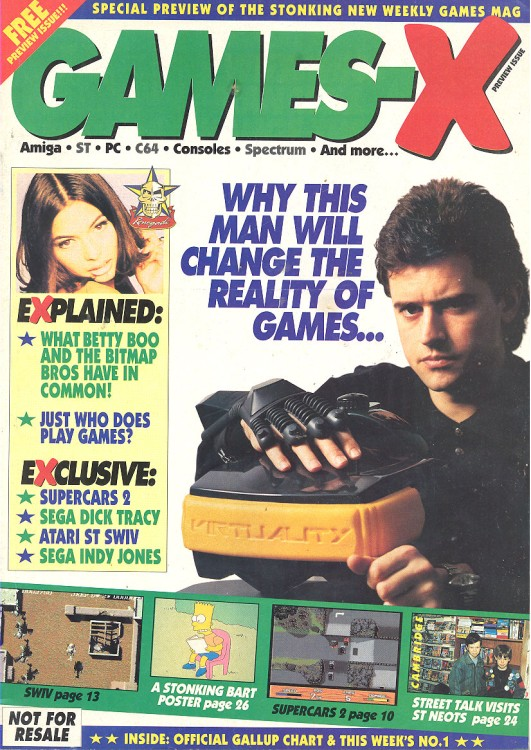 Scan of Document: Games - X - Preview Issue March 1991