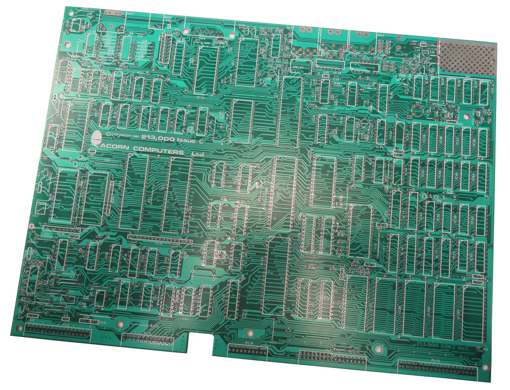 Scan of Document: BBC Micro Prototype PCB