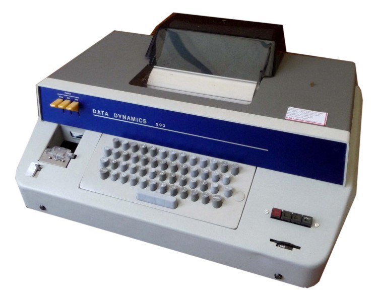 Scan of Document: Data Dynamics 390 Teletype