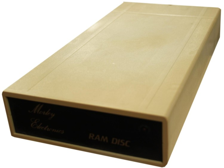 Scan of Document: Morley Electronics RAM Disc