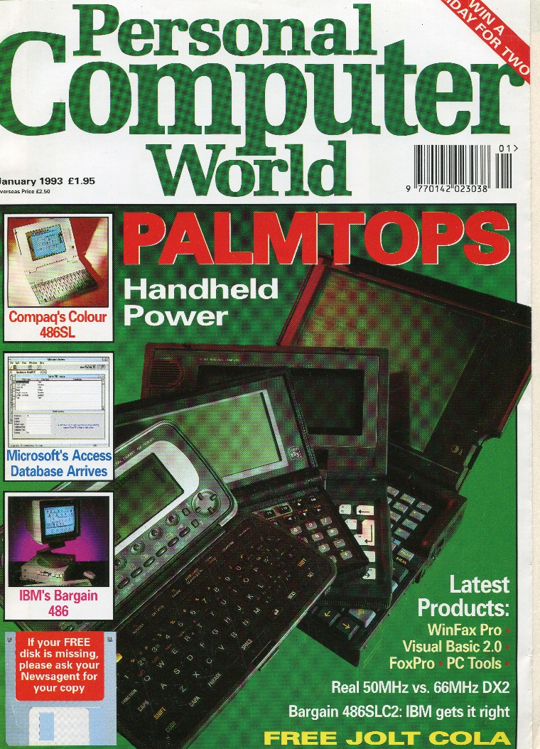 Scan of Document: Personal Computer World - January 1993