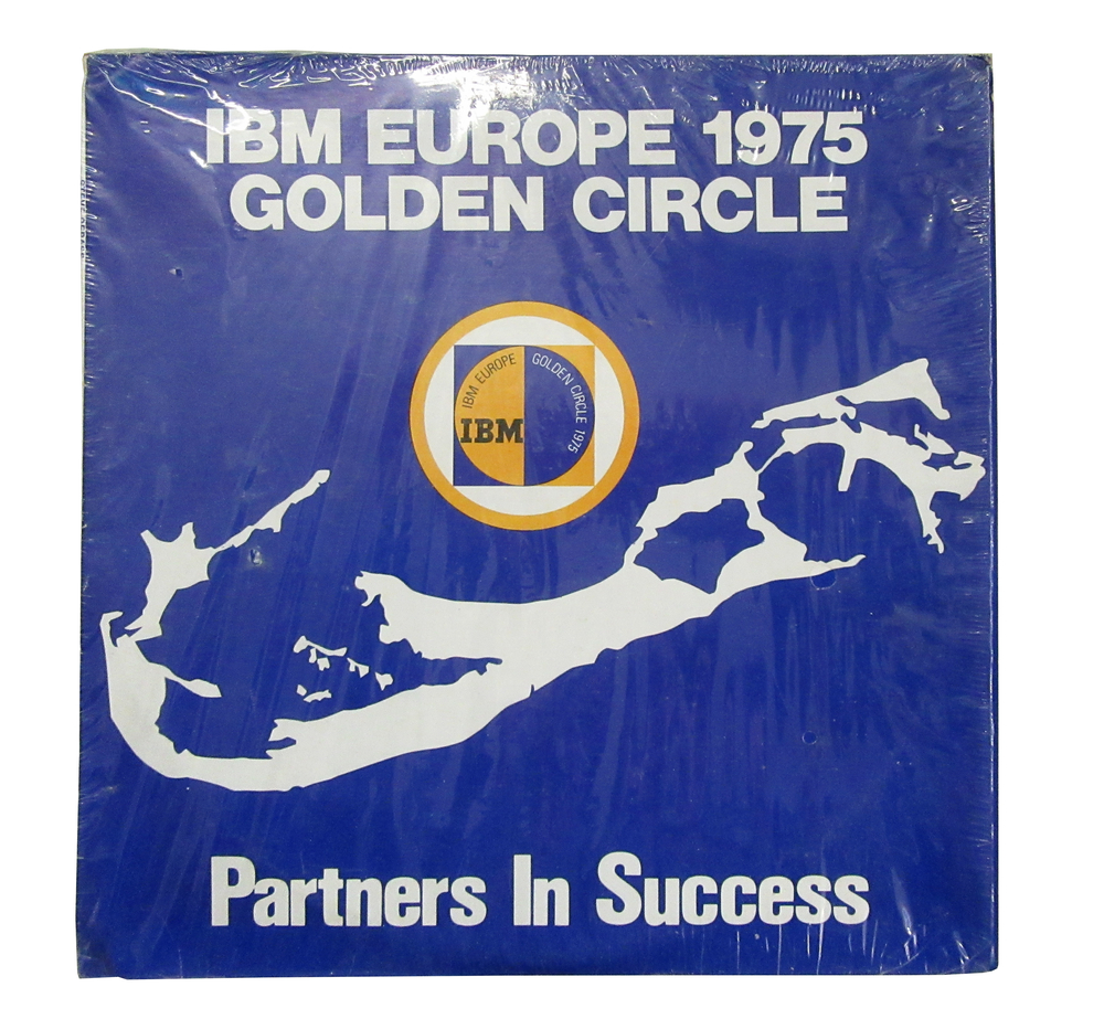 Scan of Document: IBM Europe 1975 Golden Circle Partners in Success