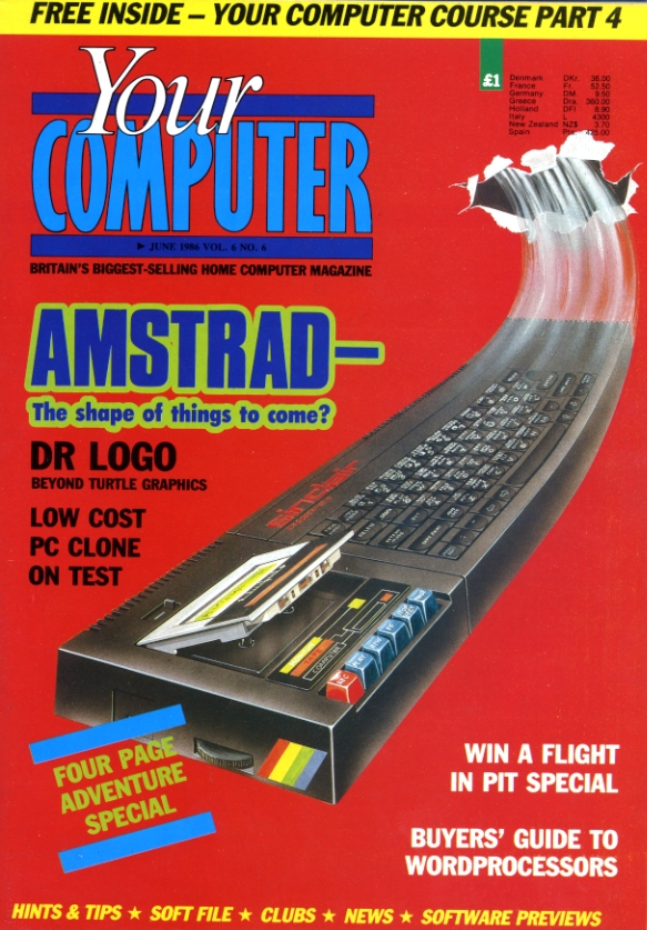 Scan of Document: Your Computer - June 1986