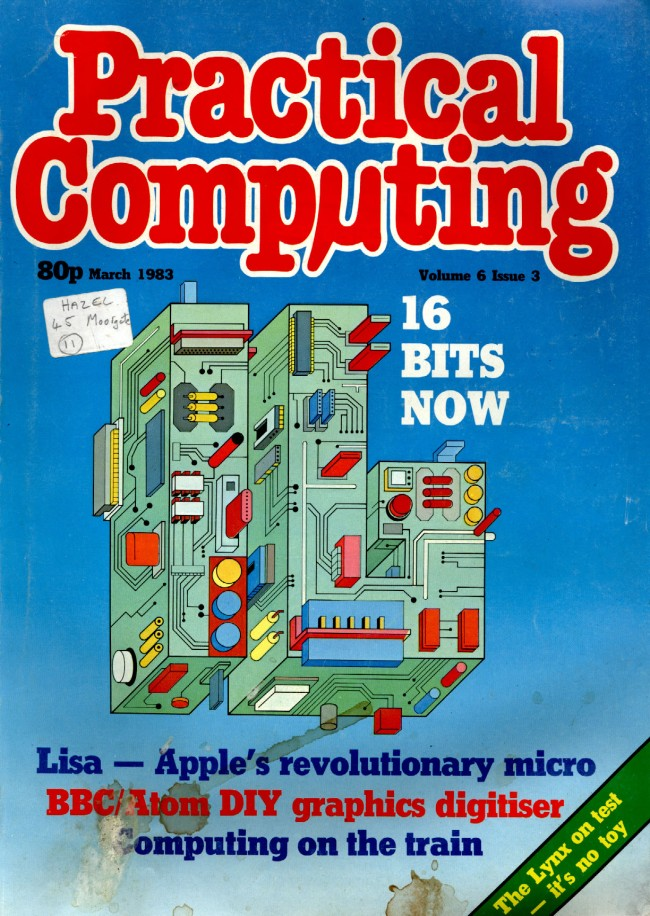 Scan of Document: Practical Computing - March 1983, Volume 6, Issue 3