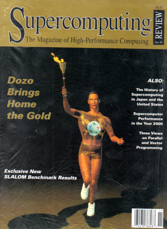 Scan of Document: Supercomputing Review - November 1990