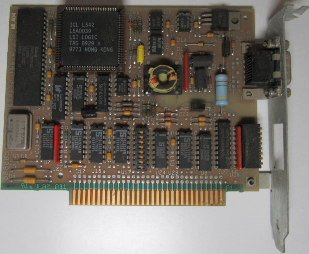 Scan of Document: ICL - Microlan 2 Communications Board
