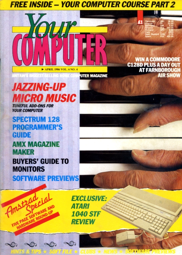 Scan of Document: Your Computer - April 1986