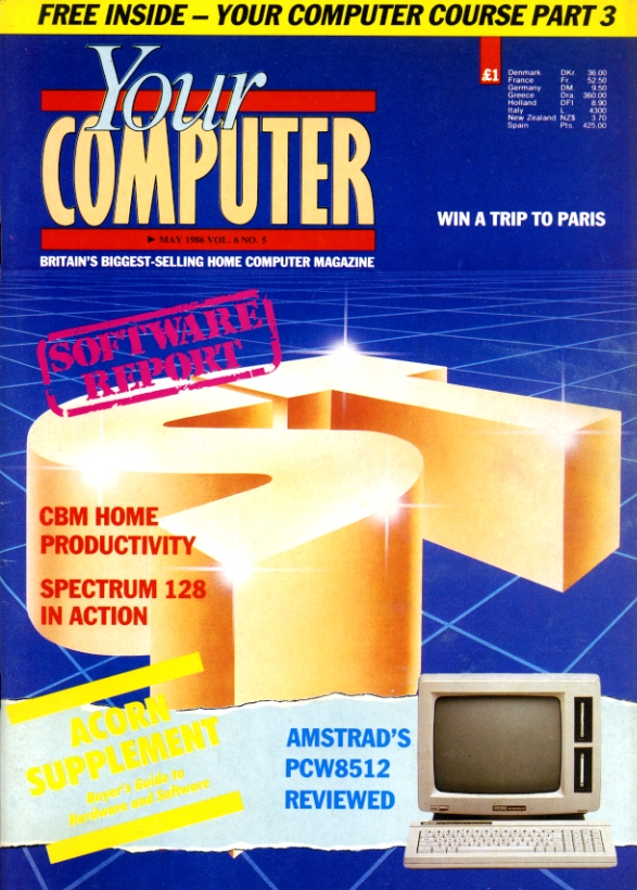 Scan of Document: Your Computer - May 1986