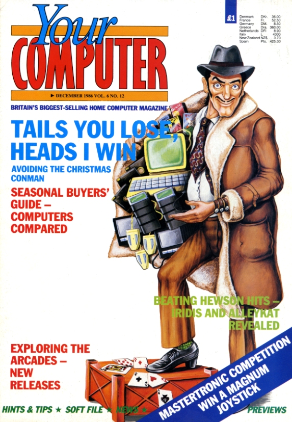 Scan of Document: Your Computer - December 1986
