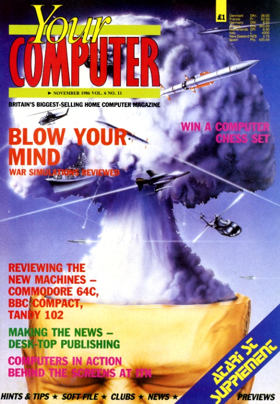 Scan of Document: Your Computer - November 1986