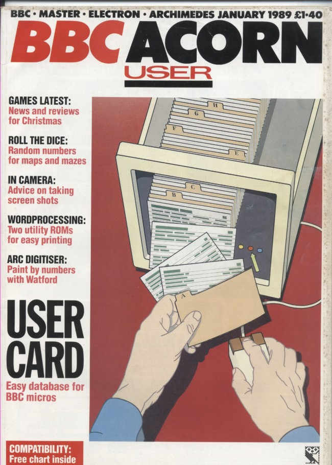 Scan of Document: Acorn User - January 1989