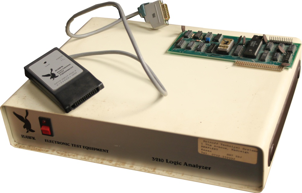 Scan of Document: Hawk 3210 Logic Analyzer