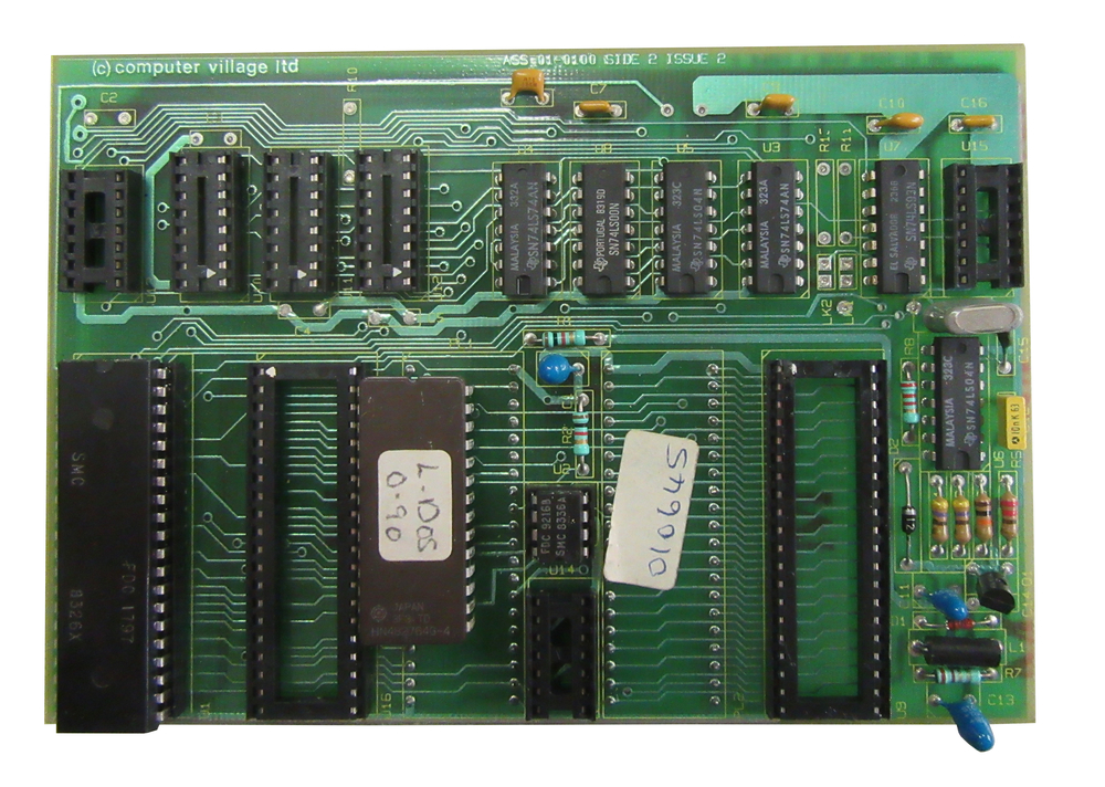 Scan of Document: Computer Village Floppy Disc Controller