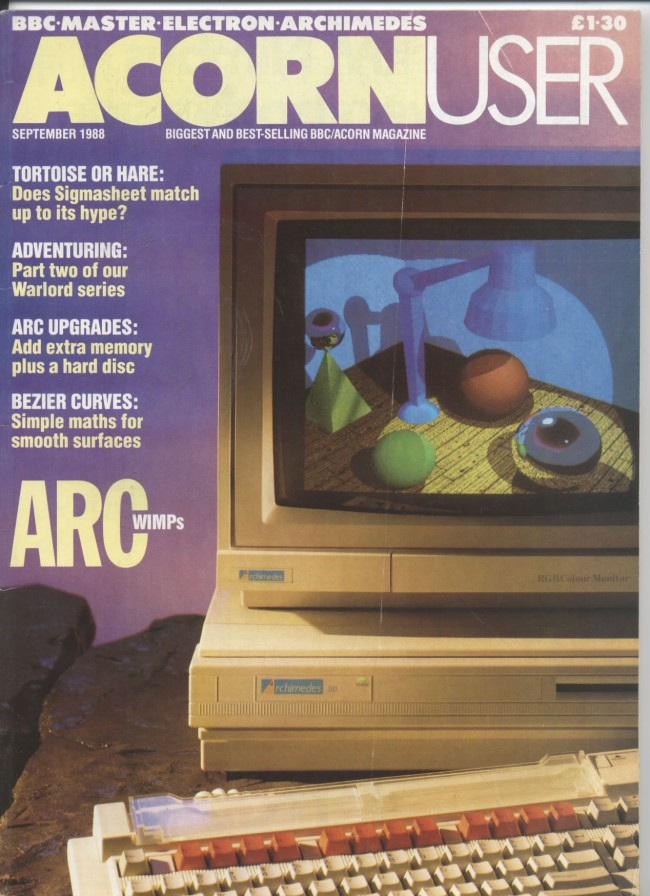 Scan of Document: Acorn User - September 1988