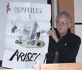 Photograph of Ted Nelson