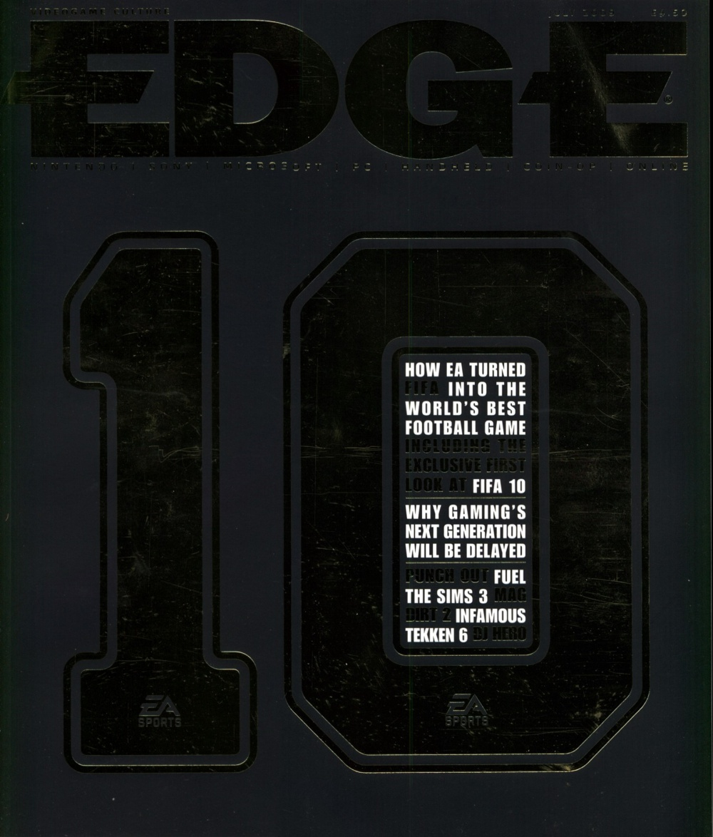 Scan of Document: Edge - Issue 203 - July 2009