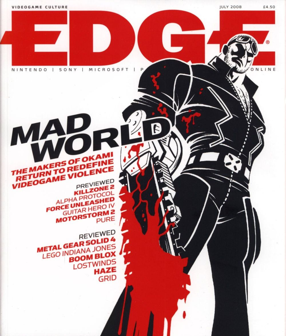Scan of Document: Edge - Issue 190 - July 2008