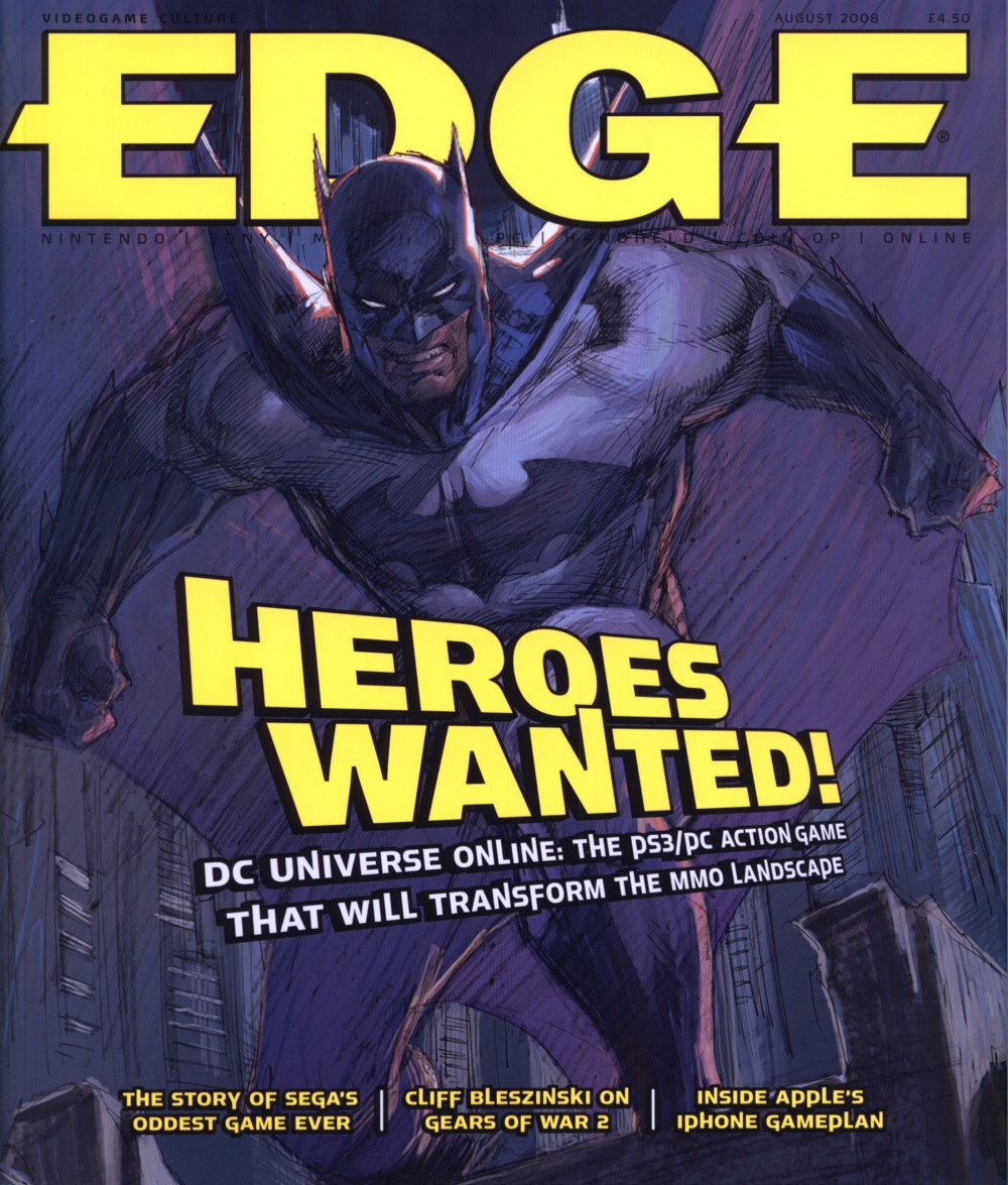 Scan of Document: Edge - Issue 191 - August 2008