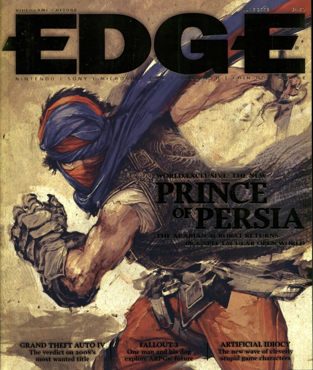 Scan of Document: Edge - Issue 189 - June 2008