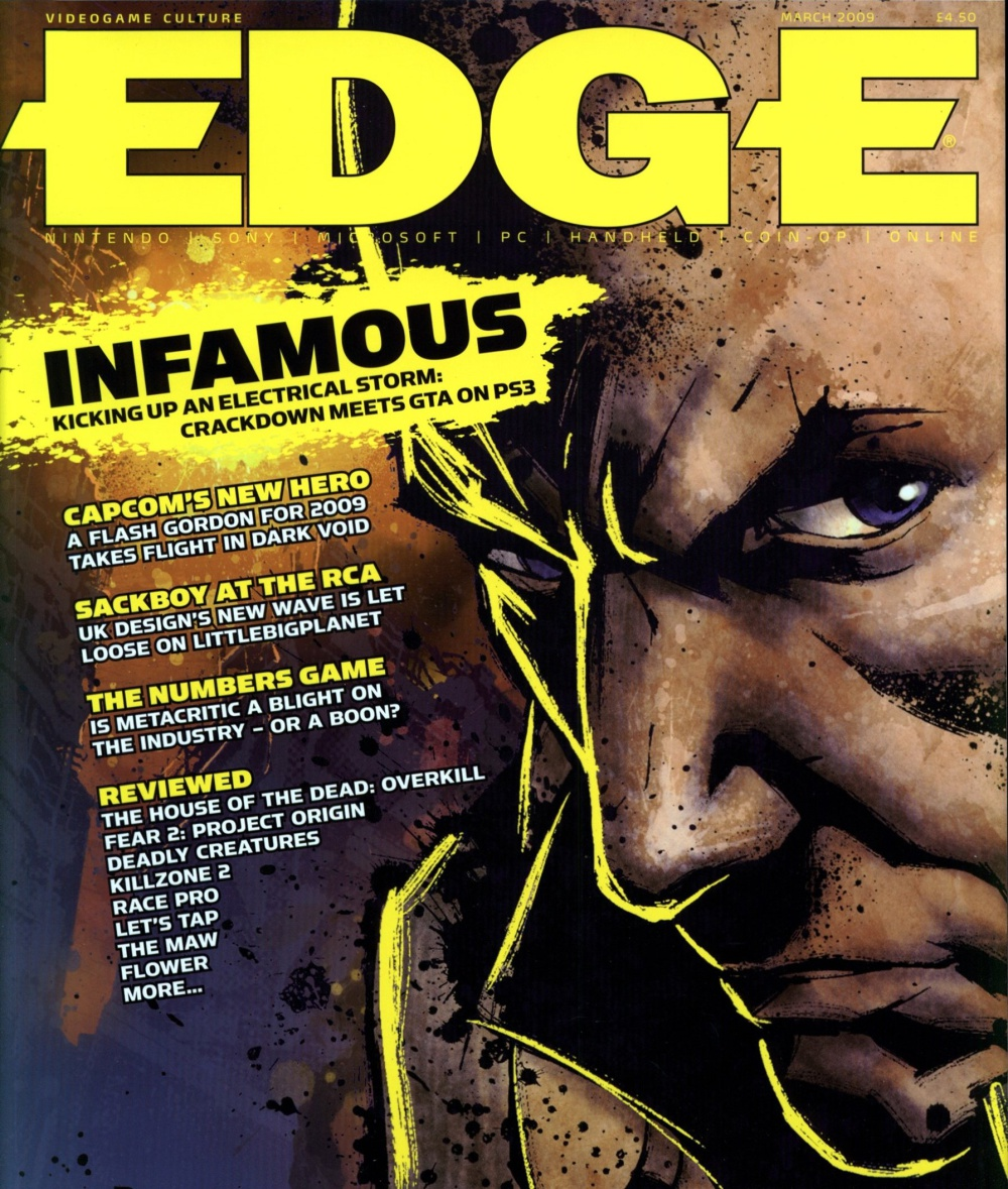Scan of Document: Edge - Issue 199 - March 2009