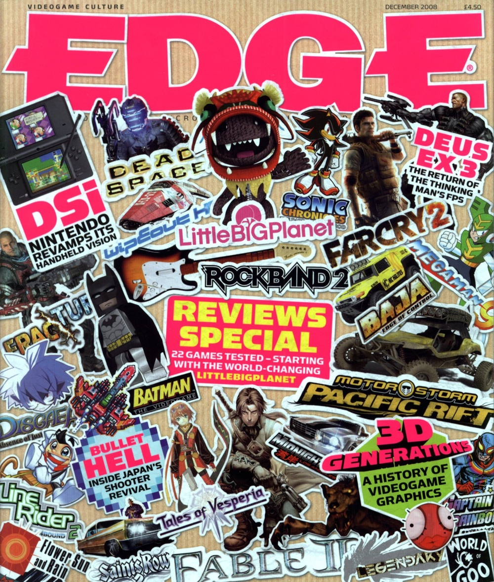 Scan of Document: Edge - Issue 195 - December 2008