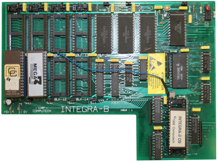 Scan of Document: Integra-B Expansion Board