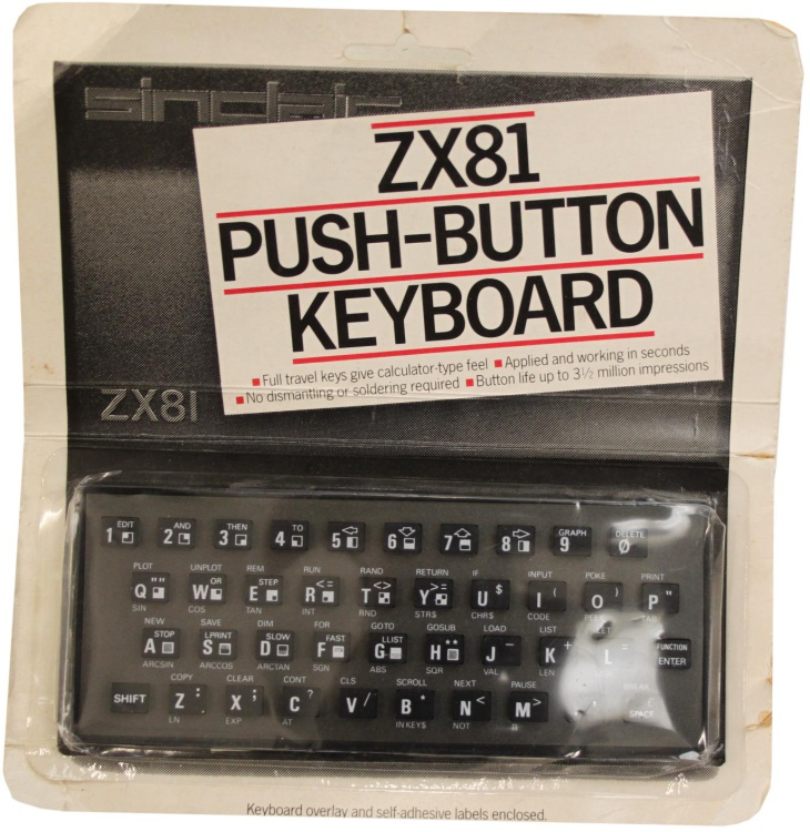Scan of Document: ZX81 Push-Button Keyboard