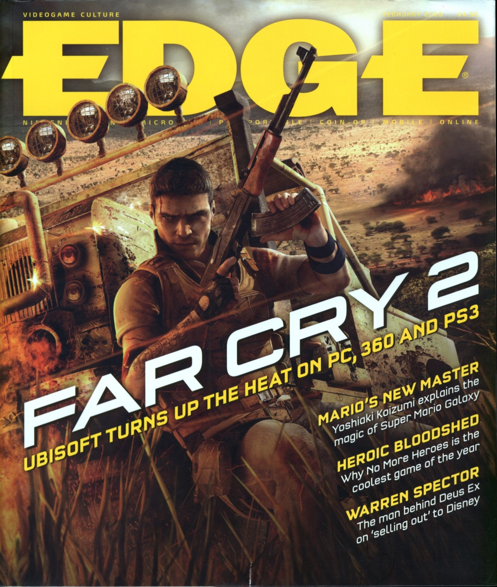 Scan of Document: Edge - Issue 185 - February 2008