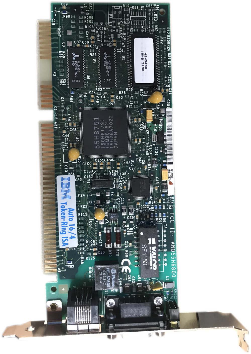 Scan of Document: IBM ISA Auto TokenRing card