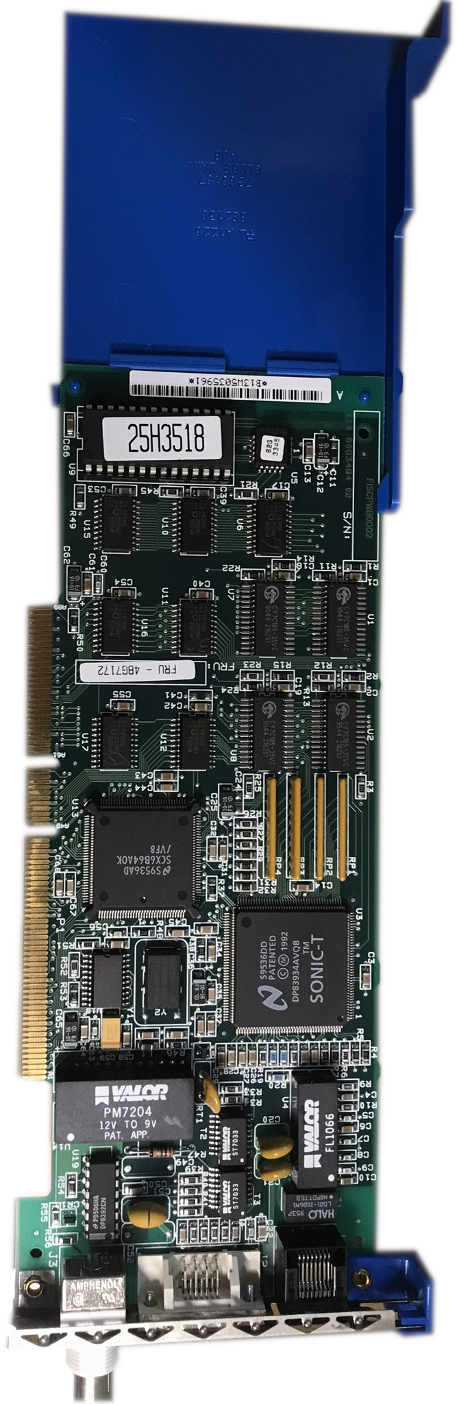 Scan of Document: IBM TokenRing card