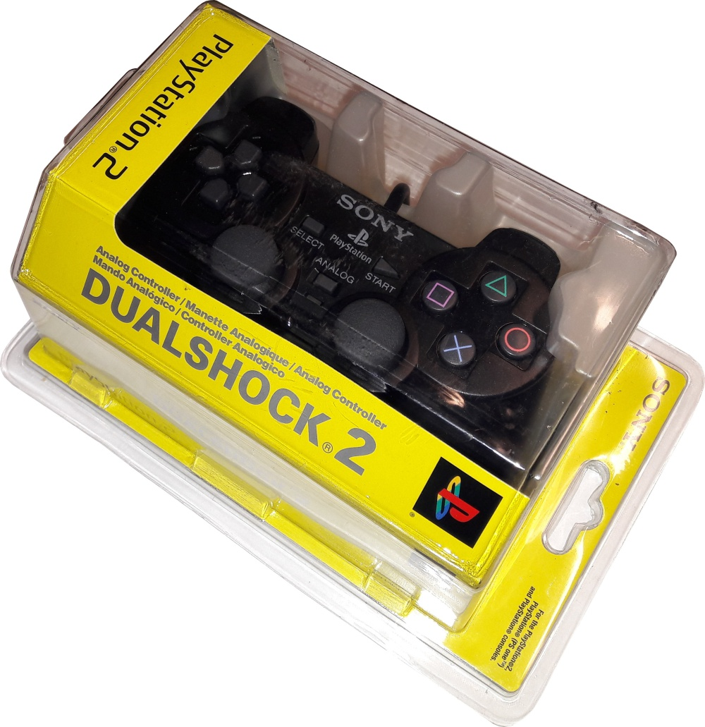 Scan of Document: Playstation 2 Dual Shock Controller (Sealed in Box)